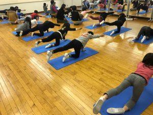 子供体幹トレーニング教室