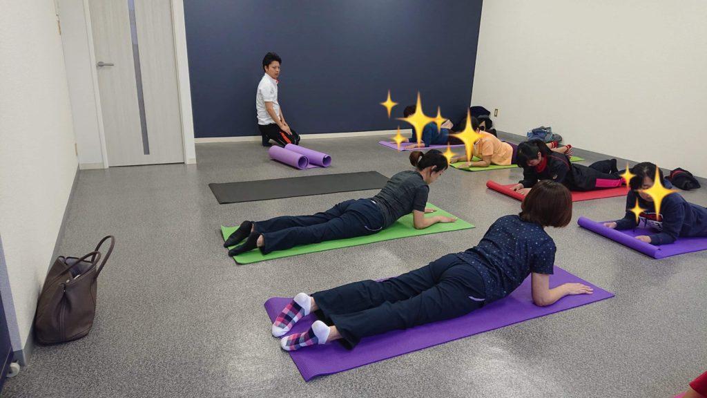 3月30日体幹トレーニング教室1