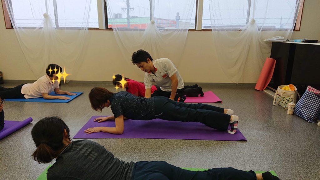 3月30日体幹トレーニング教室3